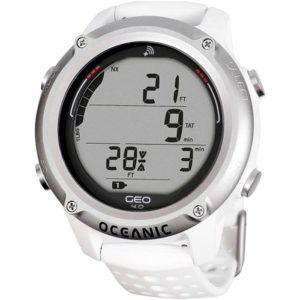 oceanic geo 4.0 hvid dykkercomputer