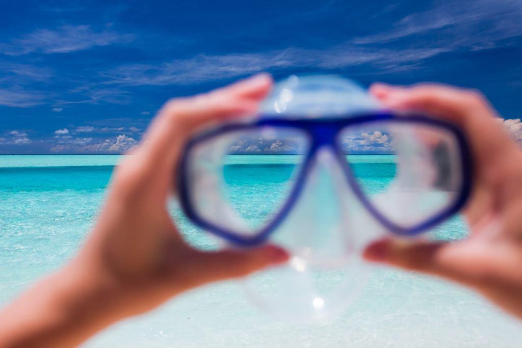 svømmebriller med styrke 2